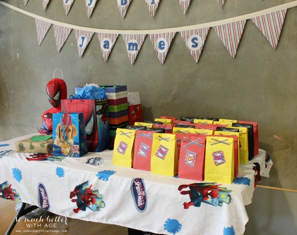 Superhero birthday party ideas somuchbetterwithage.com