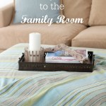Adding Color to the Family Room (and Giveaway)
