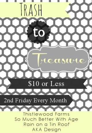 Trash to Treasure via somuchbetterwithage.com