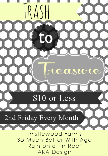 Trash to Treasure series via somuchbetterwithage.com
