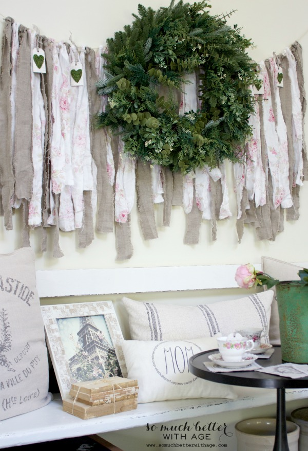 shabby chic / Mother's day tea party via somuchbetterwithage.com