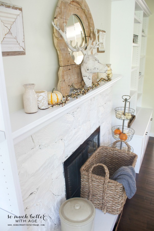 Fall Home Tour 2014 / rustic and neutral