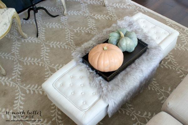Fall Home Tour 2014 / heirloom pumpkins