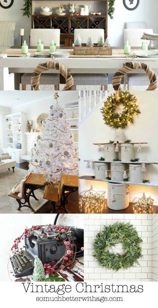 Vintage Christmas Holiday Housewalk 2014 by somuchbetterwithage.com