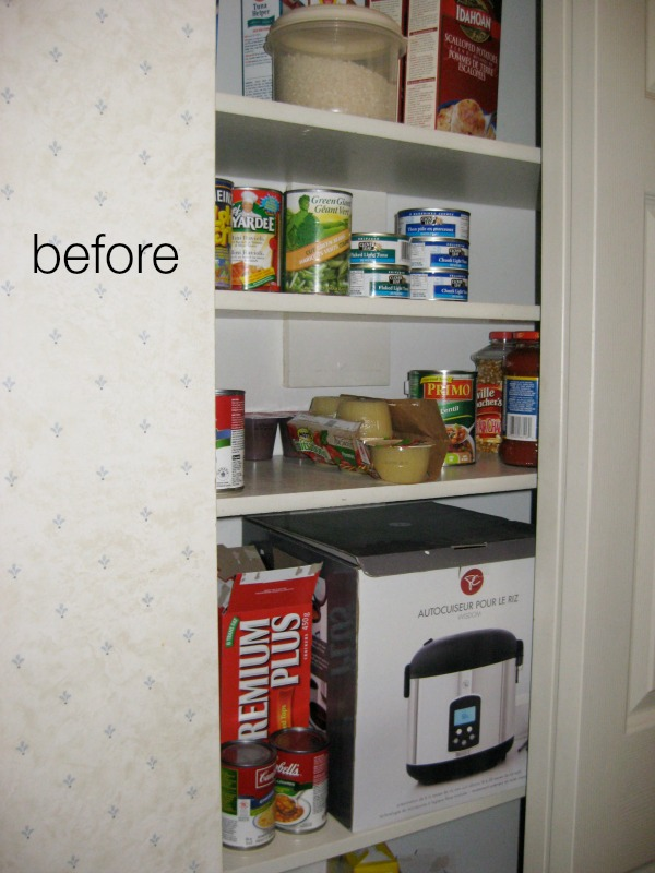 Closet before butler pantry