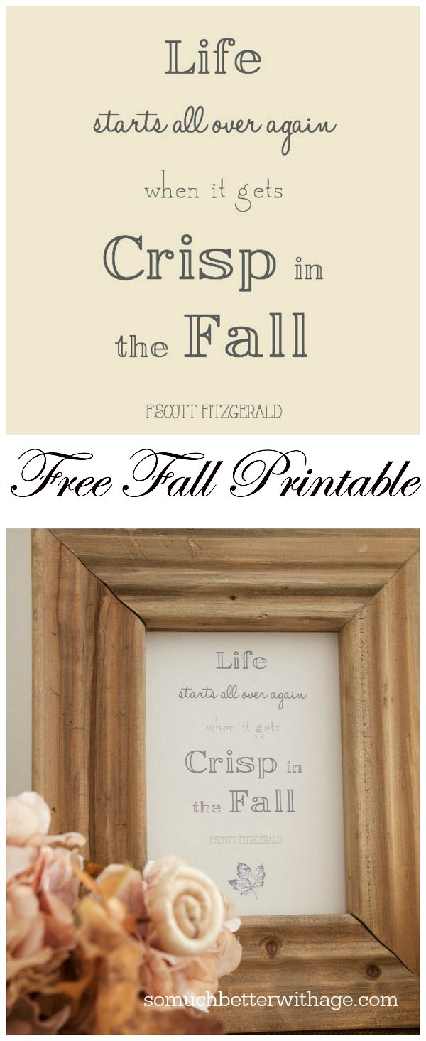 Free Crisp in the Fall Printable | somuchbetterwithage.com
