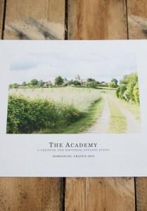 Heather Bullard's The Academy in France