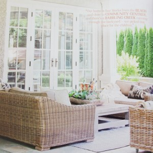 My Bestie's House in Style at Home Magazine