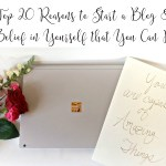 Top 20 Reason to Start a Blog