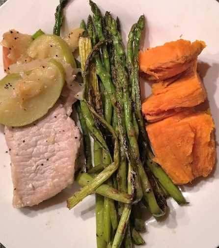 dinner-heathy-recipe-clean-eating-21-day-fix-pork-chops-asparagus-sweet-potato