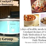 Free 5 Day Clean Eating Crockpot & Cardio Challenge