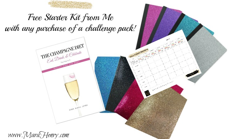 CoachMaraHenry starter kit with challenge pack purchase
