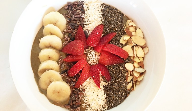 Superfood Chocolate Breakfast Bowl
