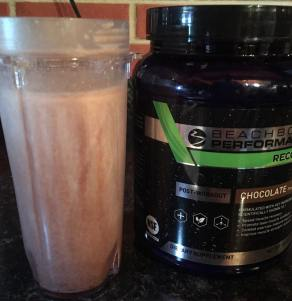 Beachbody Performance post workout recovery drink