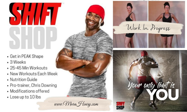New Workout Program ~ Shift Shop: The 3-Week Rapid Rebuild