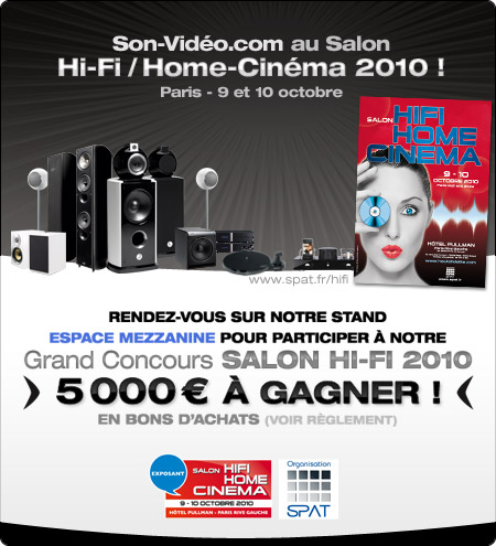 Son vid au salon de la hi fi et du home cin ma le - Salon hifi home cinema ...