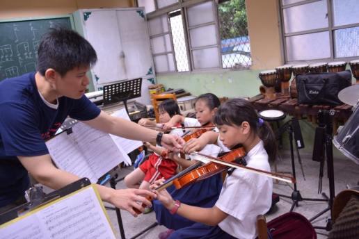 遠雄藝文贊助 - 傳愛很簡單,一個樂器一把琴就夠了!