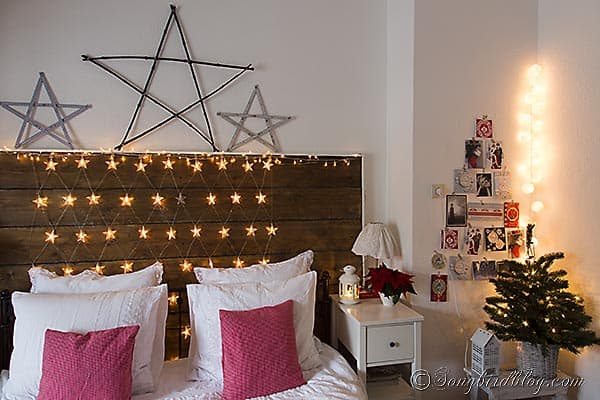 Starry, Starry Night, a Christmas Bedroom Decoration - christmas room decorations