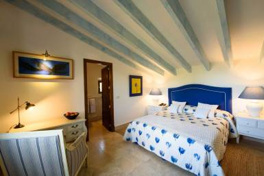 blue junior suite hotel son grec
