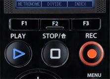 Olympus LS-14 audio recorder