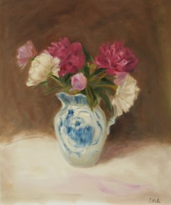 2015-15-Floral.Hale.Peonies in Antique Straffodshire Pitcher