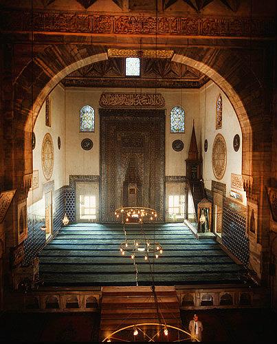 Keyword Turkey Bursa Yesil Cami Interior Of Early 15th Century