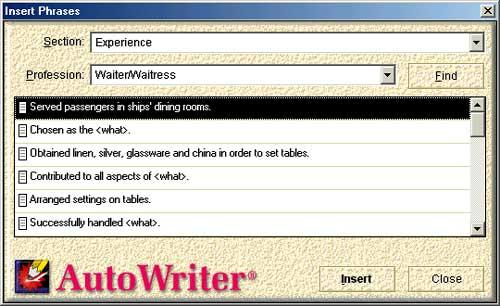 Winway Resume Deluxe 9 - winway resume deluxe