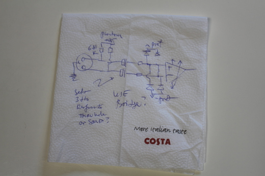 One more napkin schematic for the road.