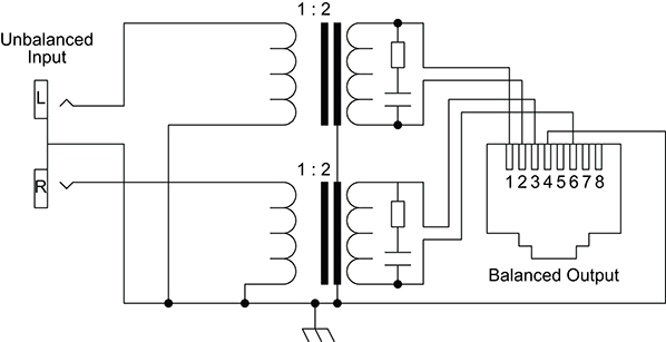 xlr to phono jack wiring