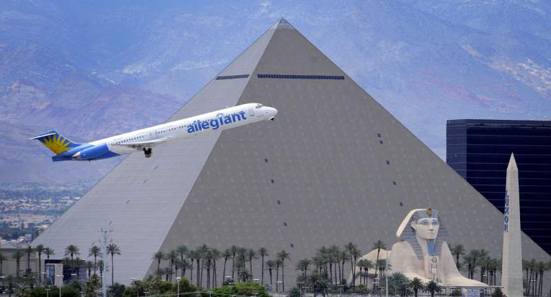 Allegiant Air Kicks Off Service to Las Vegas from Sonoma County