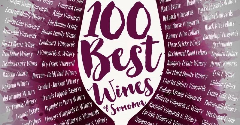 100 Best Wines of Sonoma