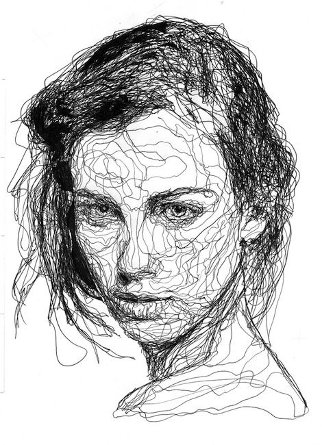 Line Drawing - SVHS Art - line drawing