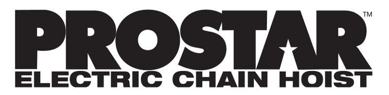 CM - Prostar - 250 kg Electric Chain Hoist
