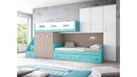lit superpos dcal personnalisable avec tiroir de rangement