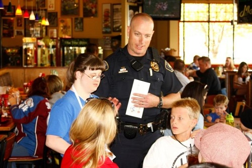 Buffalo Wild Wings Tip-a-Cop Special Olympics Nevada