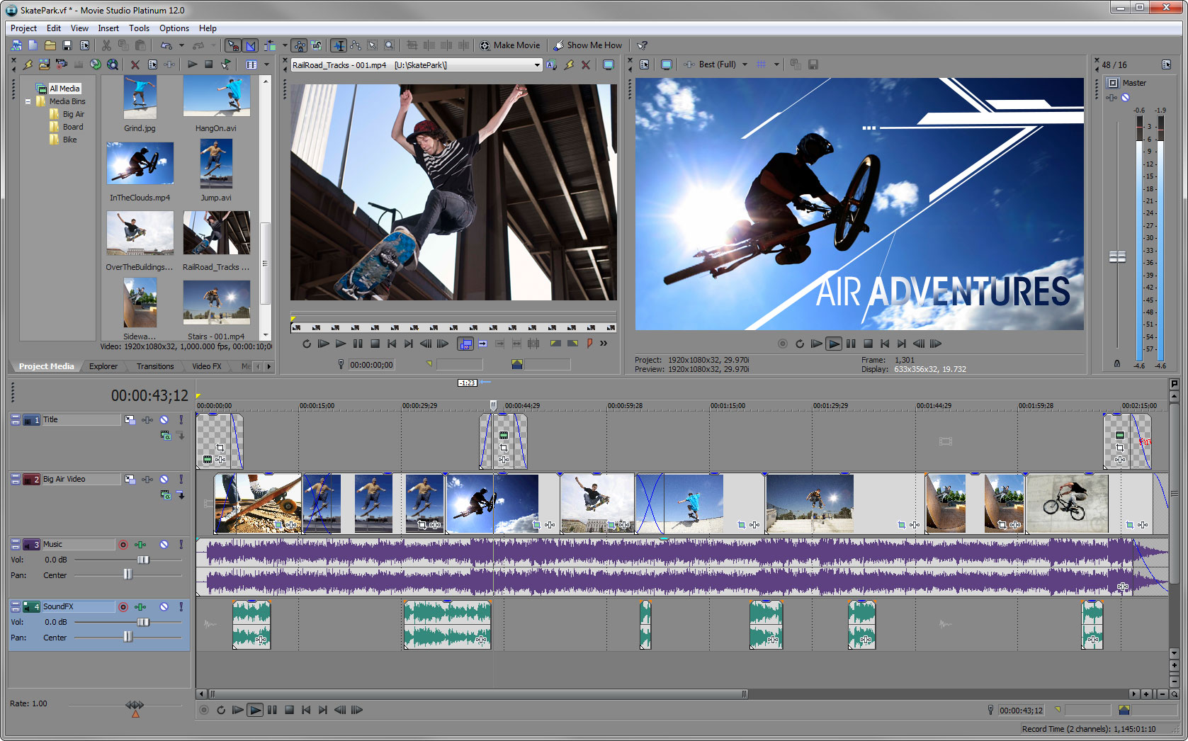 Sony vegas movie studio updates