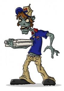 Zombie Pizza Guy