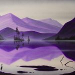 """Island Earth XVIII"" Acrylic on canvas. $1600.00"