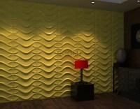 3D Modern Wall Art Cladding Textured Wall Panels 32.29 sq ...
