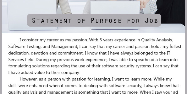 cover letter vs statement of purpose - Divingthexperience - statement of purpose graduate school sample