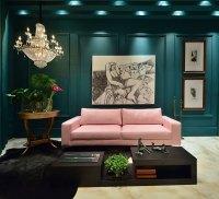 Dark Green Living Room Walls