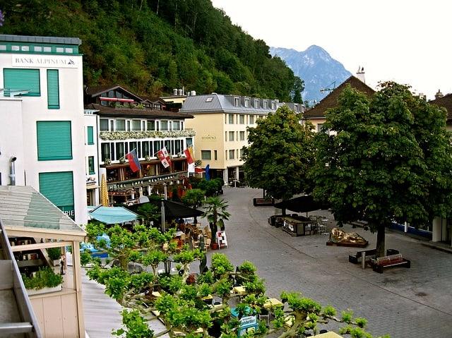 Städtle, Vaduz Liechtenstein