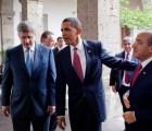 Anuncian encuentro entre Obama, Calderón y Harper