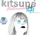 Cortesías gratis gratis gratis para la Kitsuné Halloween Club Night