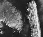 El hundimiento del Costa Concordia visto desde el espacio