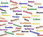Los apellidos más comunes en México