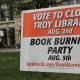 Cómo rescatar una biblioteca con una quema de libros
