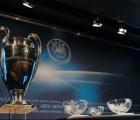 Así será el sorteo de la Champions League