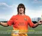 Video: Carles Puyol domina una naranja