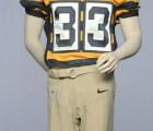 El uniforme del 80 aniversario de los Pittsburgh Steelers